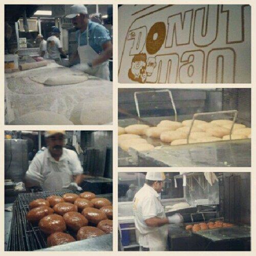 Donut Man in Glendora
